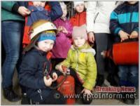 На Кіровоградщині діти побували на гостинах у рятувальників