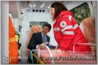 У Кропивницьому презентували нові автомобілі швидкої допомоги