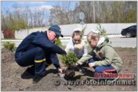 У Кропивницькому рятувальники долучилися до Дня довкілля