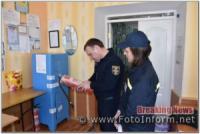 На виборчих дільницях Кіровоградщини чергують рятувальники