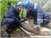 На Кіровоградщині знищили дві небезпечні знахідки часів Другої світової війни