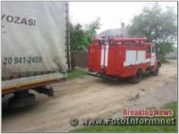 Кропивницький: рятувальники надали допомогу водію транспортного засобу