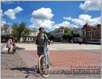 Кропивницький: жіночий велопробіг у День матері