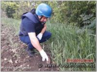 На Кіровоградщині знову знайшли та знищили 2 артснаряди часів Другої світової війни
