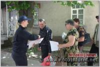 На Кіровоградщині у Компаніївці рятувальники провели рейд