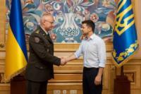 Верховний Головнокомандувач Збройних Сил України призначив нового начальника Генерального штабу - Головнокомандувача ЗСУ