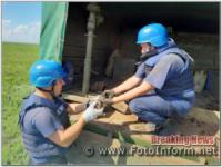 На Кіровоградщині сапери знищили 6 застарілих боєприпасів