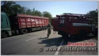 На Кіровоградщині рятувальники надали допомогу водію автомобіля
