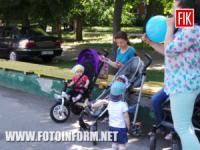 Кропивницький: акція «Місто в пелюшках» у фотографіях