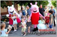 На Кіровоградщині дитяче свято відбулося з ляльками і лялькарями