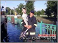 На Кіровоградщині населенню продовжують надавати допомогу по відкачці дощових вод