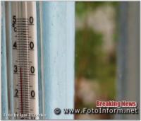 Нестерпна спека у Кропивницькому