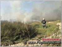 На Кіровоградщині горить суха трава