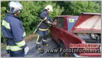 На Кіровоградщині сталась ДТП за участю двох автомобілів,  є загиблий