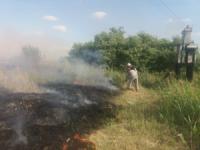 На відкритих територіях Кіровоградщині виникло 5 пожеж