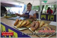 Що приготували ресторатори кропивничанам на фестивалі вуличної їжі