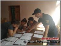 На Кіровоградщині для працівників дільничних виборчих комісій проводять інструктажі