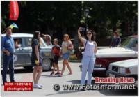 У Кропивницькому містяни робили селфі біля ретро автомобілів