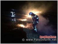 На Кіровоградщині виникло 7 пожеж різного характеру