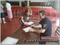 На Кіровоградщині для голів і секретарів виборчих дільниць проводять інструктажі