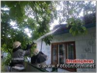 На Кіровоградщині двічі ліквідовували займання у житловому секторі