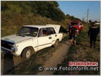 Кіровоградщина: на допомогу водієві легковика викликали рятувальників