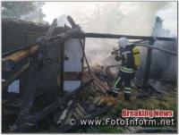 Вогнеборці Кіровоградщини загасили 2 пожежі