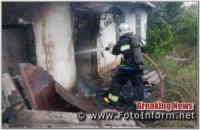 Впродовж минулої доби на Кіровоградщині виникло 3 пожежі