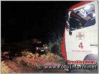 У Кропивницькому рятувальники двічі виїздили для надання допомоги водіям