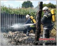 На Кіровоградщині у житловому секторі виникло 4 пожежі