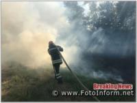 Протягом минулої доби на Кіровоградщині у екосистемі виникло 16 займань