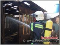 Кіровоградщина: на приватних територіях виникло 5 пожеж