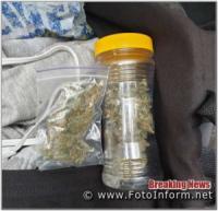 У Кропивницькому викрили трьох осіб,  причетних до збуту наркотиків
