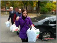 У Кропивницькому в будинку престарілих відбулася благодійна акція