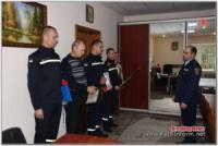 У Кропивницькому рятувальників відзначили з нагоди Дня захисника України