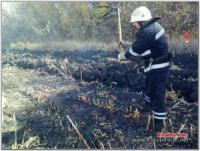 На Кіровоградщині під час пожежі жінка отримала опіки 3-го ступеня