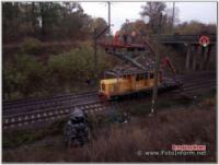 ДТП на Кіровоградщині: автомобіль злетів з мосту на залізничну колію,  водій загинув