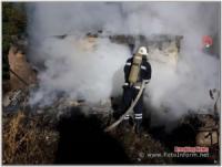 На Кіровоградщині вогнеборці загасили 4 пожежі