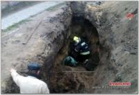 На Кіровоградщині з-під обвалу грунту врятували чоловіка