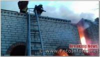 На Кіровоградщині минулої доби вогнеборцями приборкано 4 пожежі