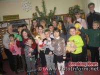 У Кропивницькому для дітей організували шоу новорічних забав