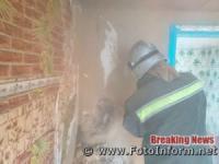 Кропивницький: вогнеборці ліквідували займання в електощитовій