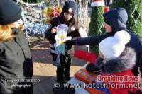 Як у Кропивницькому містяни Різдво з патрульними святкували