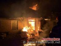 На Кіровоградщині у житловому секторі виникло 3 пожежі