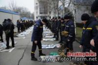 У Кропивницькому рятувальники відпрацювали порядок дій за сигналом «Збір-аварія»