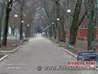 Порожні вулиці у Кропивницькому