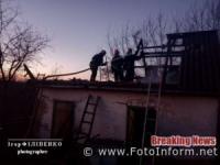 На Кіровоградщині виникло 3 пожежі: травмованих та загиблих немає
