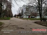 Порожні вулиці Кропивницького через коронавірус