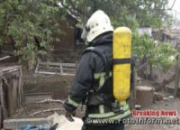 На Кіровоградщині ліквідували займання у будинку
