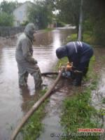 На Кіровоградщині внаслідок сильного дощу піднявся рівень ґрунтових вод